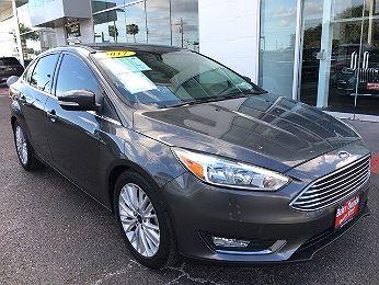 2017 Ford Focus Titanium en venta en Edinburg, TX Image