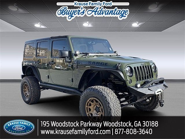 2016 Jeep Wrangler 75th Anniversary Edition