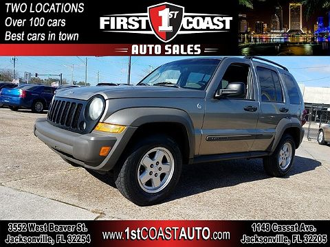 Image of Used 2007 Jeep Liberty Sport