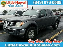Image of Used 2005 Nissan Frontier LE