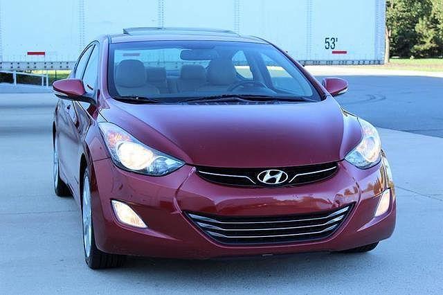 2012 Hyundai Elantra Limited Edition